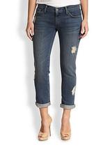 James Jeans CLASSIC Boyfriend Jeans NEO BEAUZ Destroyed Plus 26 Blue Pan... - $73.94