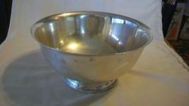Vintage Silverplated Small Salad or Fruit Pedestal Serving Bowl - $33.41