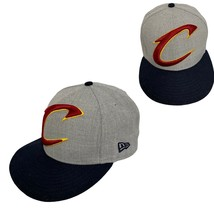 New Era Cleveland Cavaliers Snap Back Cap NBA adult unisex Hat Adjustable Fit - $15.18