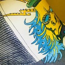 4.41 Four 41 Ape Revolution Bling Rhinestones Black Hat Cap Turquoise Ye... - £5.62 GBP