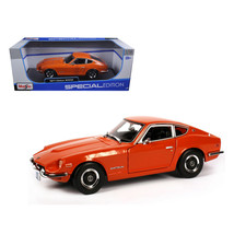 1971 Datsun 240Z Orange 1/18 Diecast Model Car by Maisto 31170OR - $46.88