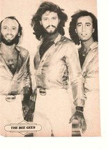 Bee Gees black & white 1970's Super teen magazine pinup Night Fever - $3.50