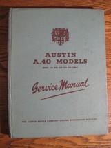 1953 Austin A40 Models Service Manual, Hardcover Original - $62.57