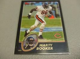 2003 Topps Black #234 Marty Booker #'d 089/150 -Chicago Bears- - $3.12