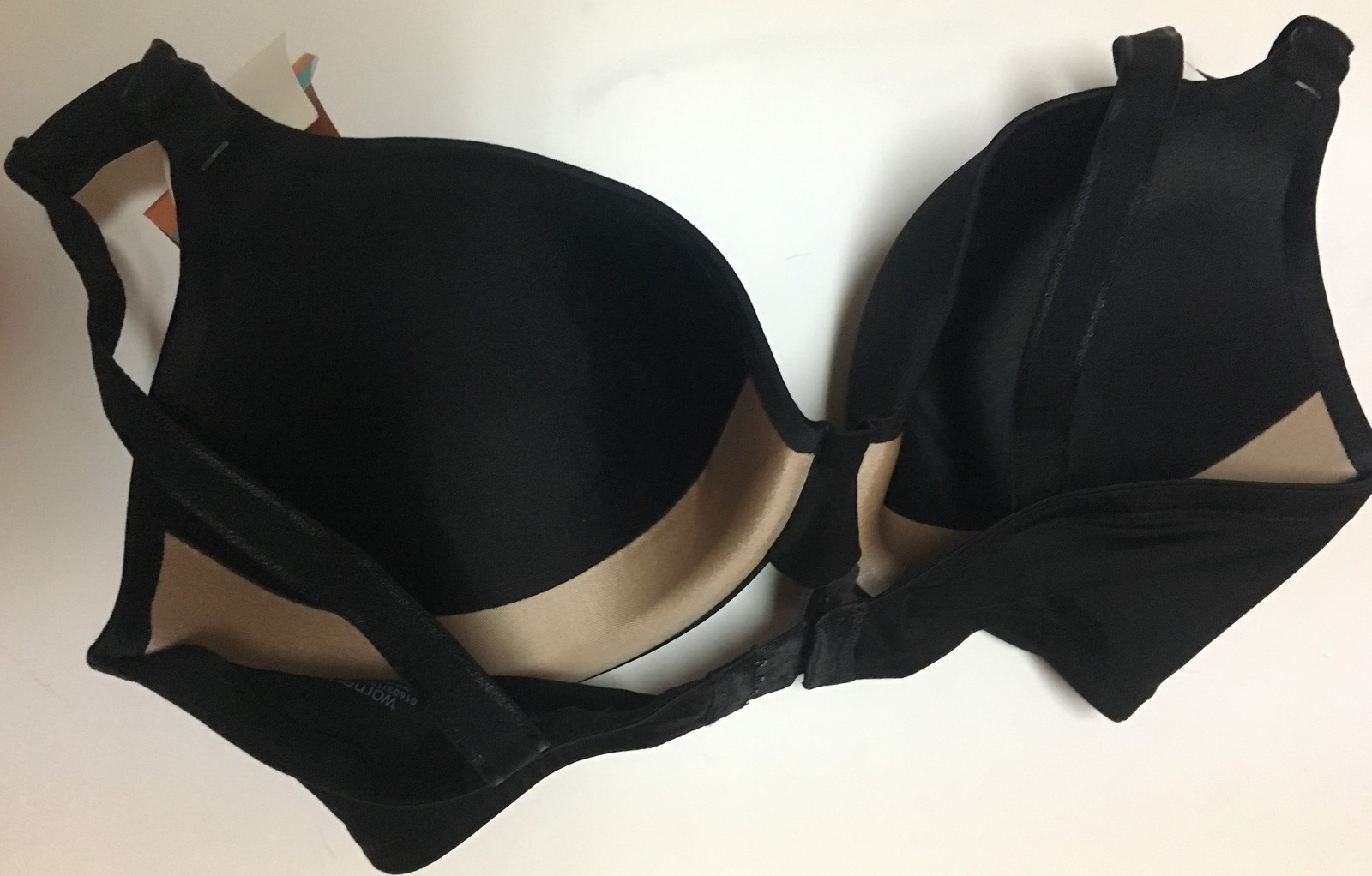 Warner's This Is Not A Bra Collection Black 34DD NWT Cushioned Underwire