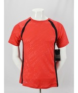 Russell Dri-Power 360 Activewear Shirt Mens Red Training Fit Gym S Small 34-36 - $18.76