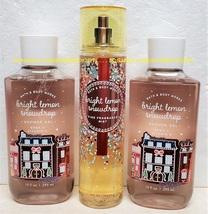 Bright Lemon Snowdrop Fragrance Mist Shower Gel Bath and Body Works Unused - $33.00