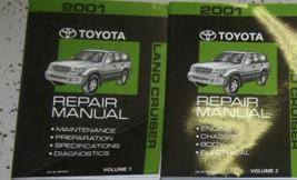 2001 Toyota LAND CRUISER Service Shop Workshop Repair Manual Set FEO Factory - $188.04