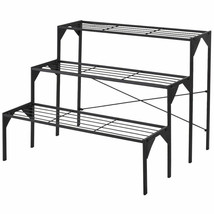 3 Tier Heavy Duty Modern Plant Display Stand Rack - $107.23