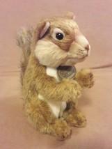 "Russ Berrie Yomiko Classics Brown Realistic Squirrel Plush Stuffed Animal 8"" - $12.19"