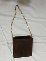 Authentic Vintage Salvatore Ferragamo Satchels Purse Brown - $197.99
