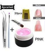 Limegirl® Polygel Quick Building Nail Gel Poly UV Gel For Finger Extensi... - $7.08