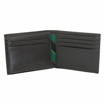 NEW TOMMY HILFIGER MEN'S LEATHER CREDIT CARD ID WALLET BILLFOLD BROWN 31TL22X053 image 2
