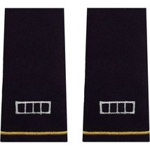 Genuine U.S. Army Officer Epaulet: Warrant Officer 4(WO4) - Large Size (Male) - $16.81