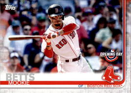 Mookie Betts 2019 Topps Opening Day Card #33 - $0.99