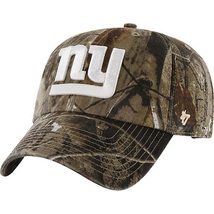 NEW NFL New York Giants NFL Realtree Adjustable Cap - $5.00