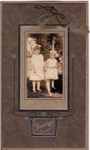 Barbara Louise & Josephine Elizabeth Stetson Cabinet Photo, ca. 1907 - $17.50