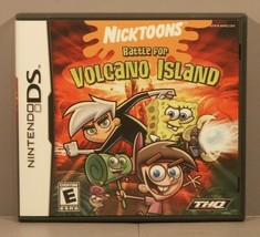 Nicktoons: Battle for Volcano Island (Nintendo DS, 2006) ***COMPLETE*** - $29.95