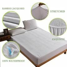 Anti Bacterial Mattress Pad Fit For Mattress Waterproof Mattress Protect... - $26.72+