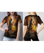 beauty and the beast live action image Tee Women - $21.80