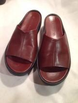 Womans Gianni Bini Brown Slip Caual Summer Shoes 7.5M - $16.83