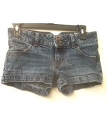 Mossimo Supply Co.  Juniors Size 1 (28) Distressed Short Shorts Stretch ... - $11.95
