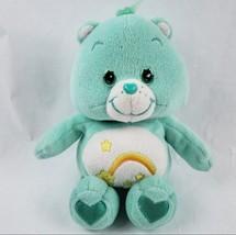 "Care Bears Wish Bear 10"" Plush Stuffed Animal Green Shooting Star Toy Doll  - $18.14"
