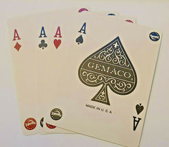 Harrah's St Louis Casino Playing Cards by GEMACO USA Blue Casino-used  (002) image 4