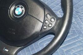 BMW E36 E38 E39 Sport Steering Wheel M Tech w/ dual Stage Bag M Technik image 5