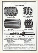 Hobs Cutting Specials  Brown & Sharpe 1941 Catalog AD - $14.99