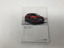 2016 Audi A3 Sedan Owners Manual Handbook OEM Z0M32 - $19.19
