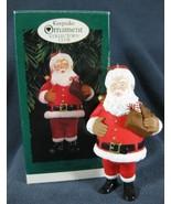 SANTA Christmas Tree Ornament Hallmark Keepsake Collector's Club 1996 - $9.95