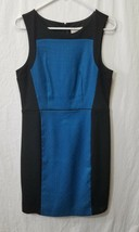 Ann Taylor LOFT Women's Size 6 Dress Sleeveless Straight Back Zip Black ... - $18.49