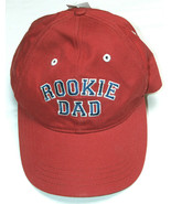 NEW Sherry Resortwear 100% Cotton Adult OSFA Embroidered Rookie DAD Cap ... - $18.66