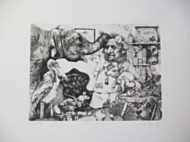"""Limited Edition Etching Print """"Veterinarian"""" by the Great Charles Bragg! - $129.00"""