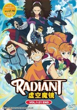 RADIANT Complete TV Series (1-21 End) English Dub SHIP FROM USA