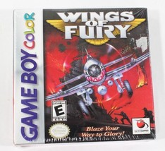 Wings of Fury Nintendo Game Boy Color GBC NEW Sealed NOS 'H' Seal - $38.62