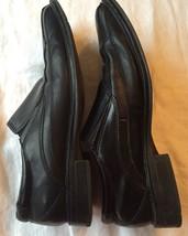 Mens Dockers Black Dress Shoes Slip On Loafers Size 8.5 - $20.57