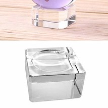 Amlong Crystal Square Crystal Ball Stand Medium for 80mm Ball - $25.07