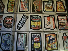 """Series One 1979 """"Wacky Packages"""" Set Of 66 Cards In Near Mint Condition - $29.69"""