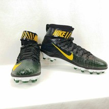 Nike Force LunarBeast Elite TD Football Cleat 847588-012 Green/Black Men's sz 14 - $33.40