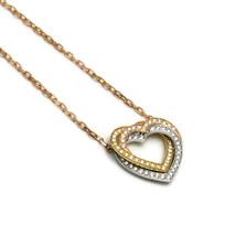 Cartier Trinity heart diamond necklace 750YGWGPG Three color - $4,427.99