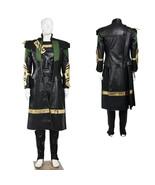 Avengers: Age of Ultron Loki Cosplay Costume Halloween Party Wear - $290.92