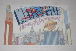 1998 Dealer Promo - SUPERMAN FOR ALL SEASONS ADVERTISEMENT POSTCARD DC C... - $4.99