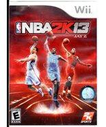 NBA 2K13 ( Wii Game) - $12.95