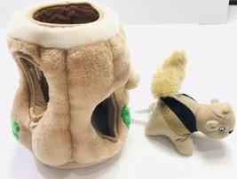 Outward Hound Log W Chipmunk Squeaky Plush Interactive Dog Toy - $27.71
