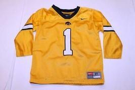 Toddler Iowa Hawkeyes #1 3T Football Jersey (Yellow) Nike - $18.69