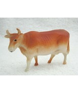 Antique Celluliod Toy Cow Made in USA Miniature 3x2 Inches Good Shape D2 - $14.85