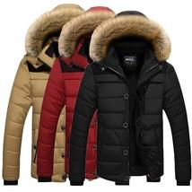 2018 New Fashion Winter Warm Men's Hooded Down Jacket Men's Winter Warm ... - $56.10