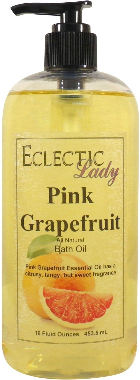 Pink Grapefruit All Natural Bath Oil